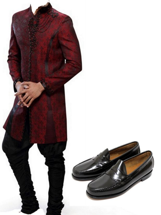 Colored Shoes And Men