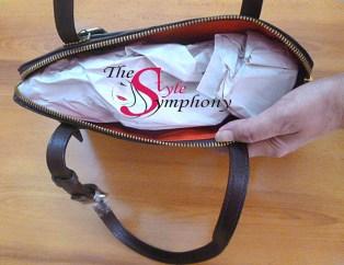handbag stuffing