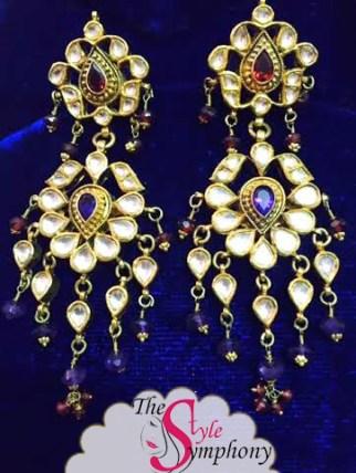 kundan earrings