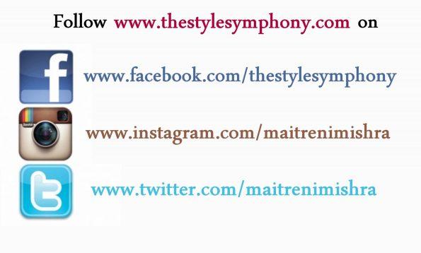 follow on social media the style symphony
