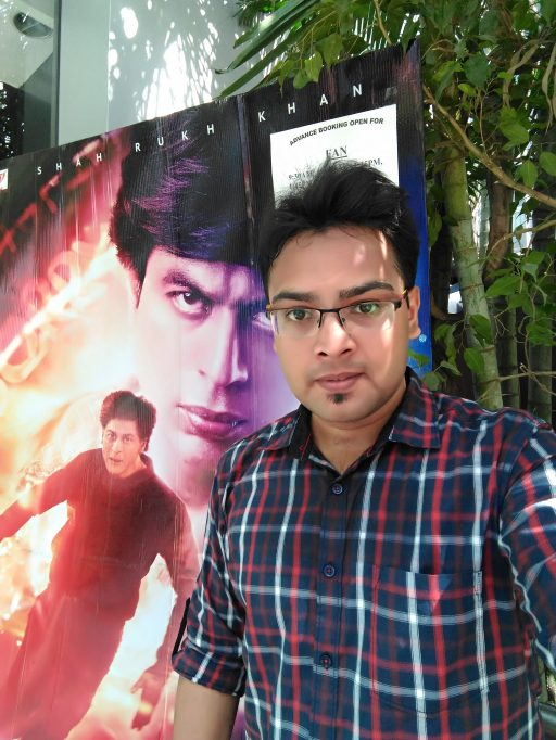 Avinash Mishra at Fan the Movie First day show