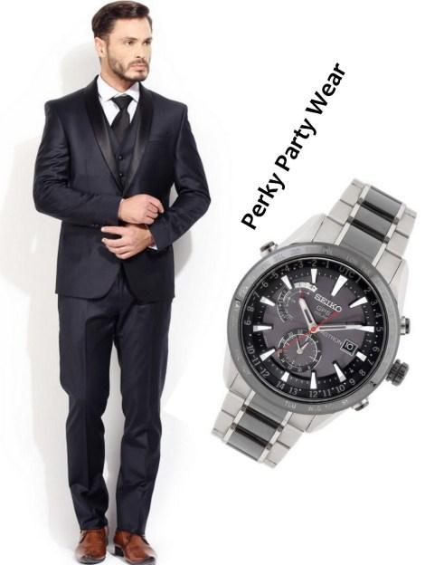perky party wear men style