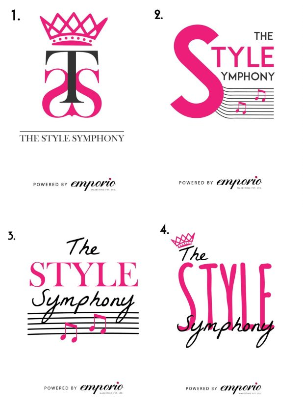 The Style Symphony logo contest powered by Emporio Marketing