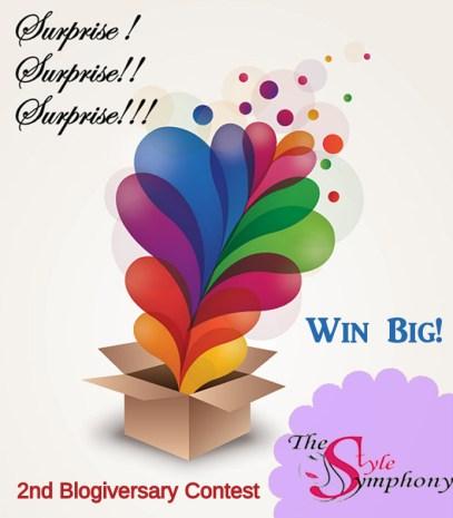 The Style Symphony Blogiversary Contest