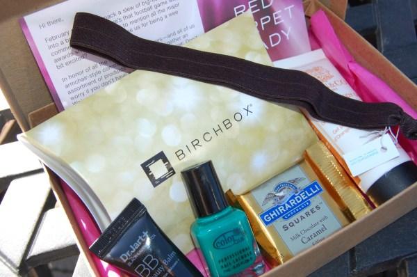 february birchbox review