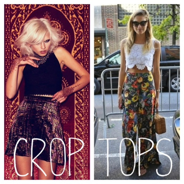 How to Wear Crop Tops