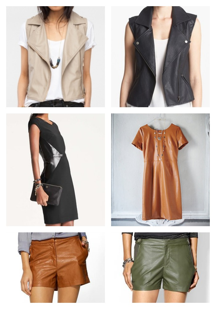Fall Trend Leather
