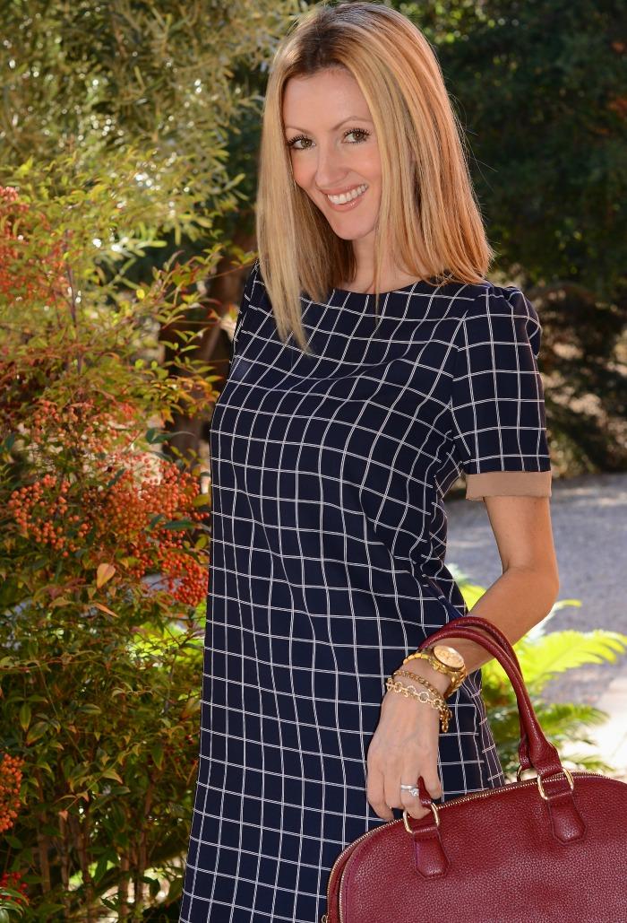 Sosie Check Dress