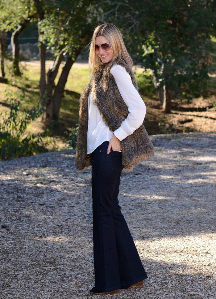 Rachel Zoe Fur Vest