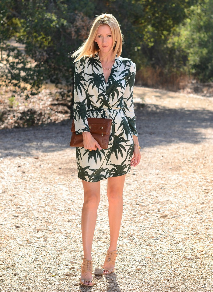 Jungle Palm Print