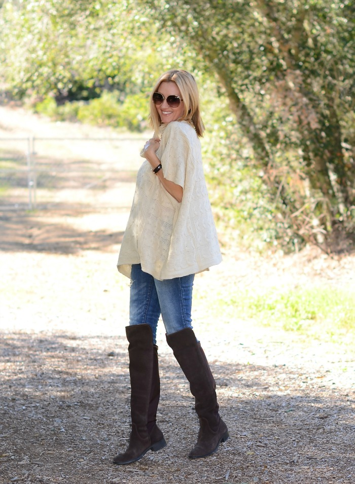Golden Tote Poncho Blog