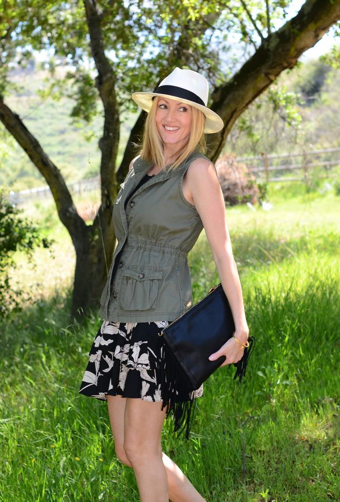 CAbi Ruffle Skirt
