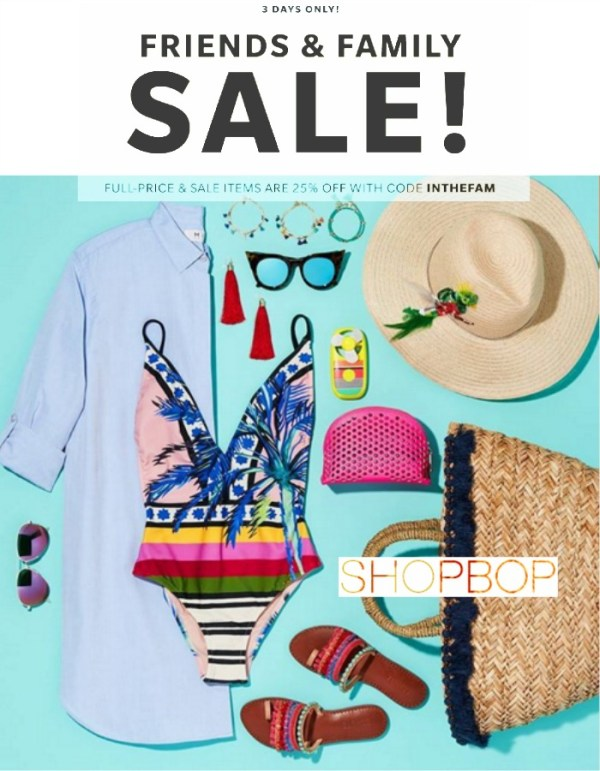 Shopbop INTHEFAM Sale