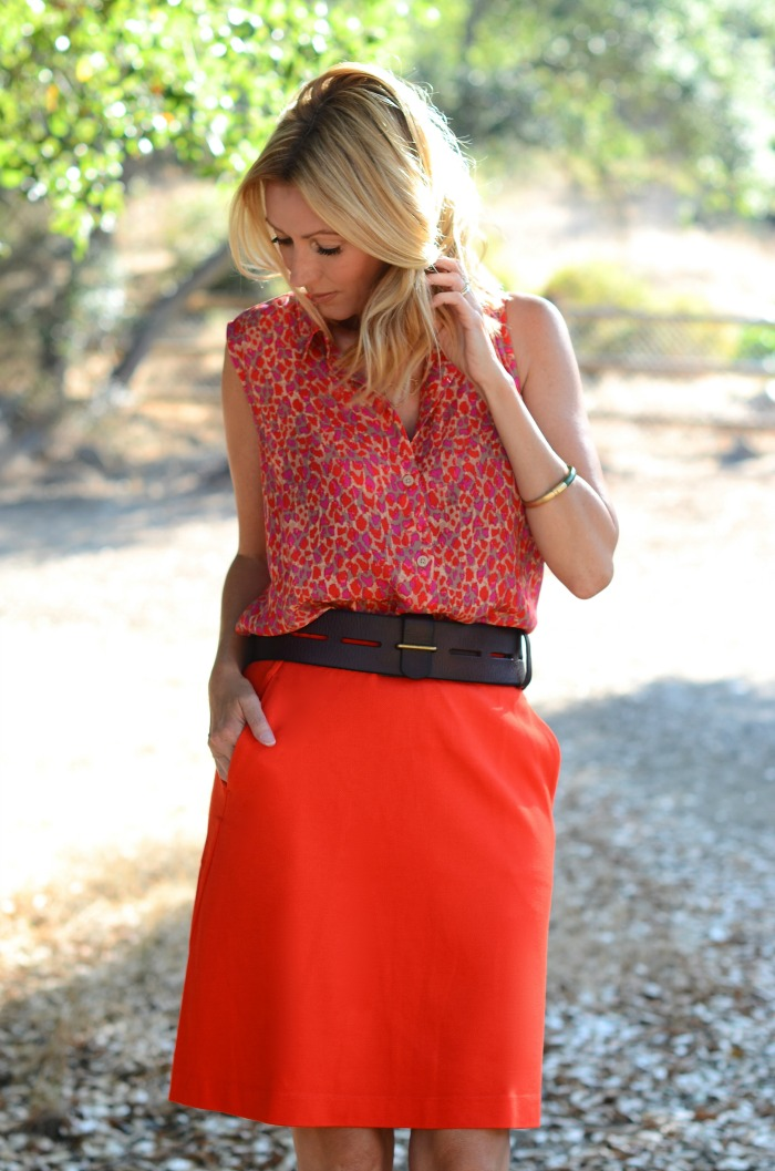 Heart of Cabi Blouse