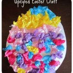 Upcycled Easter Egg Kids Craft