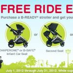 Britax Free Ride – Free Car Seat, Second Seat or Bassinet with Stroller Purchase