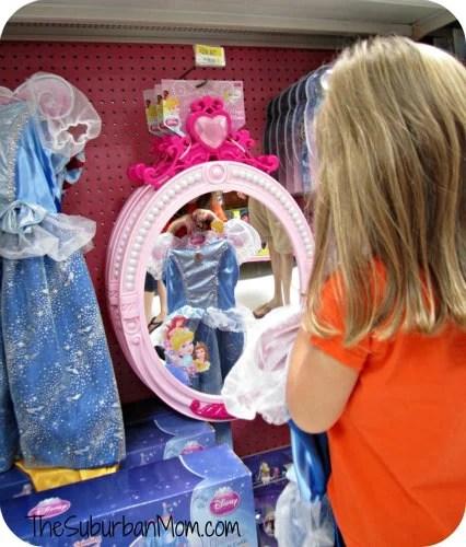 Cinderella Disney Princess Dress Shopping