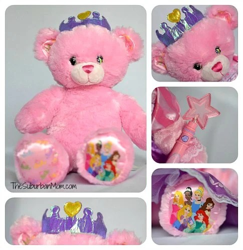Build-A-Bear Disney Princess Pink Crown