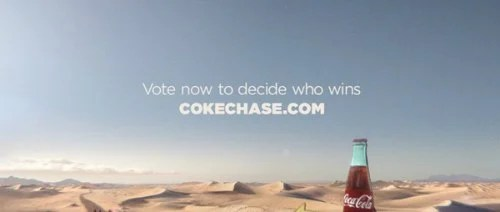 Coke Chase Commercial