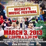 Disney Live! Mickey's Music Festival Is Coming To Orlando Coupon Code + Ticket Giveaway