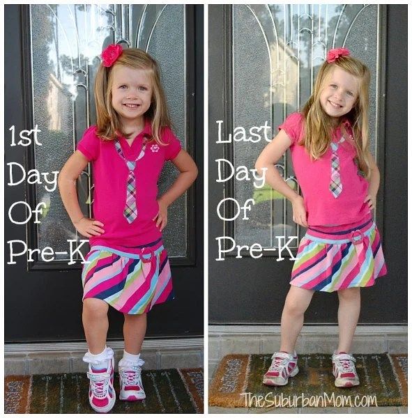 First Last Day Pre-K