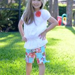 One Pair Of Shorts, Three Looks With Gymboree