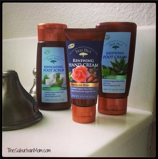Tree Hut Food Scrub Hand Cream