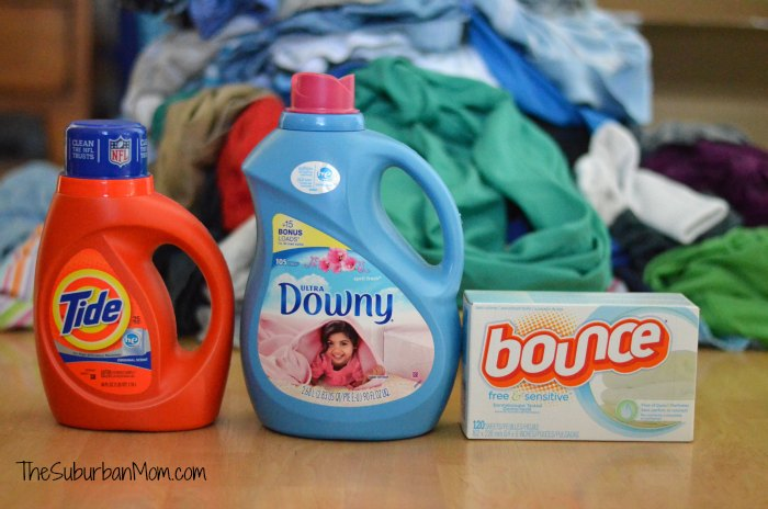 Tide Downy Bounce Laundry