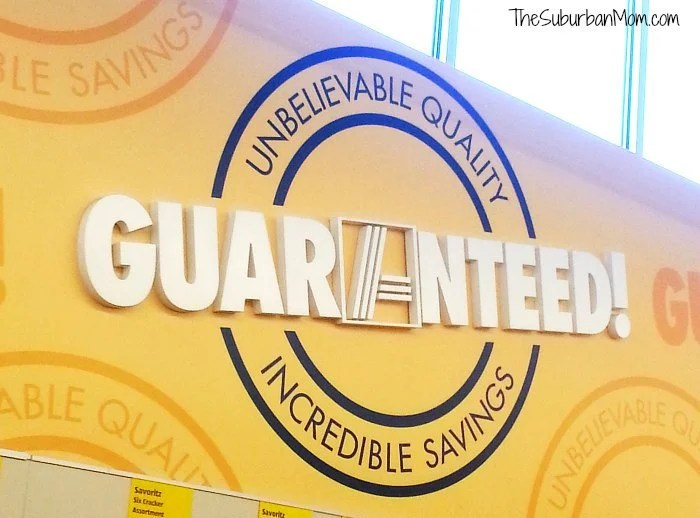 Aldi Unbelievable Quality Incredible Savings Guaranteed