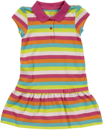 Carter's Polo Dress Stripes
