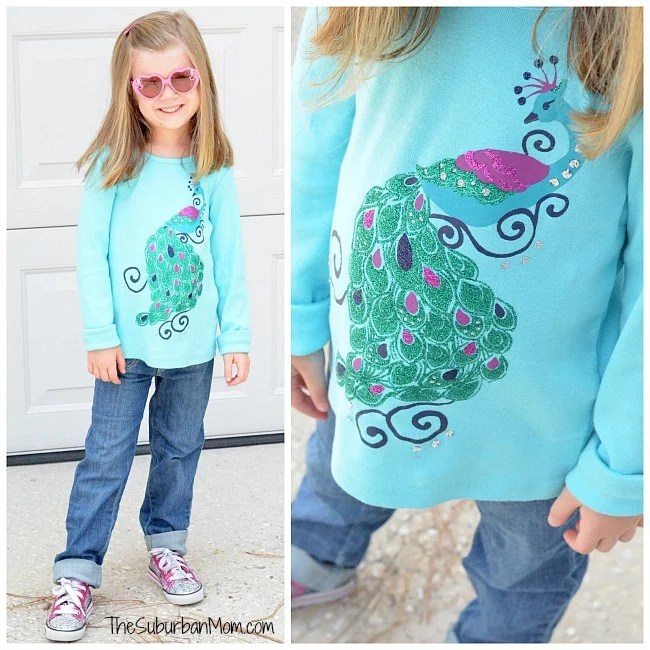 Gymboree Peacock Shirt
