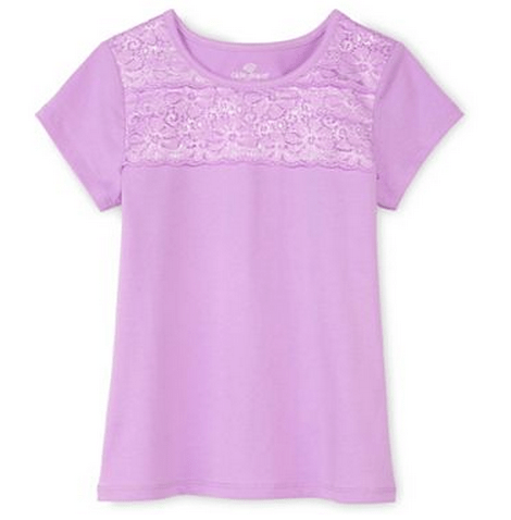 Purple Lace T-shirt