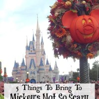 5 Things To Bring To Mickey's Not So Scary Halloween Party