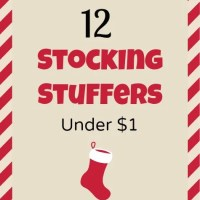 12 Stocking Stuffer Ideas Under $1 Each