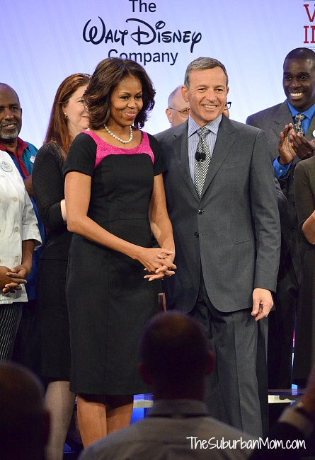 Michelle Obama Bob Iger Disney