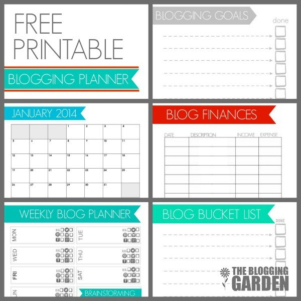 Free Printable Planner Calendar 2014 The Handmade Home