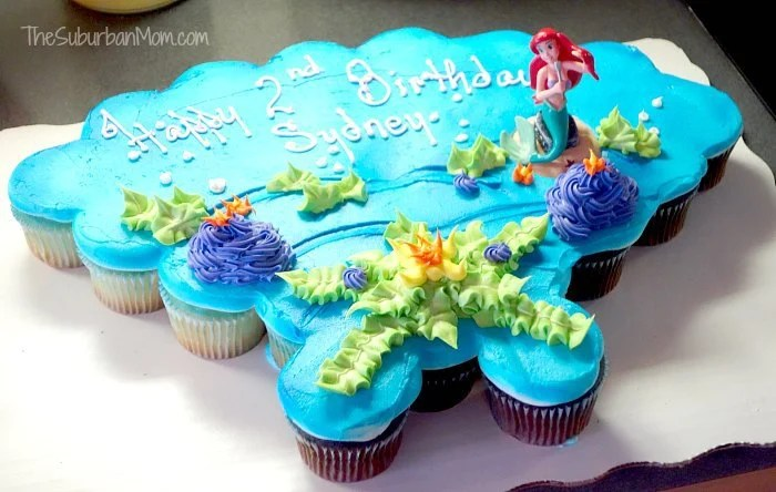 Little Mermaid Ariel Birthday Cake