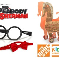 Free Home Depot Kids Workshop - Mr. Peabody & Sherman + Giveaway