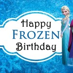 Celebrating Sisters With Disney's Frozen + Free Printable Birthday Card