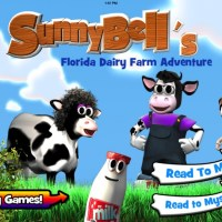 SunnyBell's Florida Dairy Farm Adventure Kids App Review ~ iPad Mini Giveaway