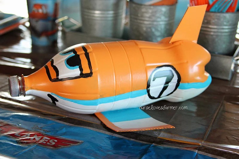 Disney Planes Dusty Plastic Bottle