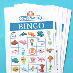 Octonauts Birthday Party Free Printable Bingo Game