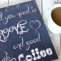 DIY Printable Canvas Sign
