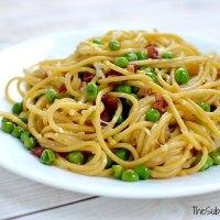 Spaghetti Carbonara ~ $25 Giveaway