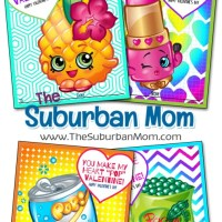 Free Shopkins Valentines Printable Cards