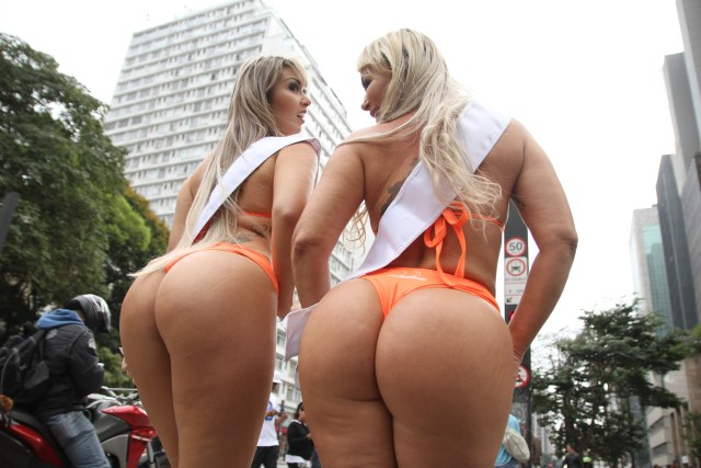 There are 27 curvy competitors vying for the Miss BumBum title this year
