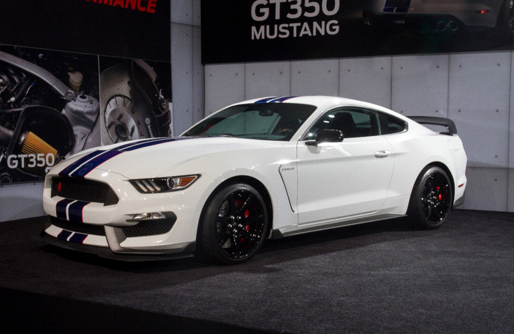 2016 ford mustang shelby gt350r launch event
