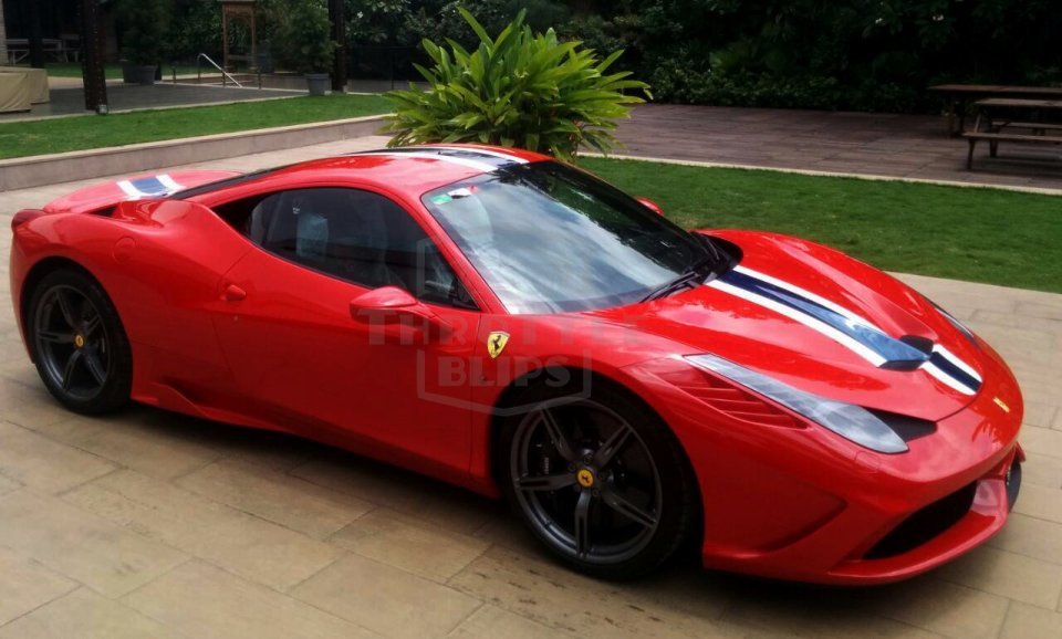 india 39 s first ferrari 458 speciale supercar arrives in bangalore the supercar blog. Black Bedroom Furniture Sets. Home Design Ideas
