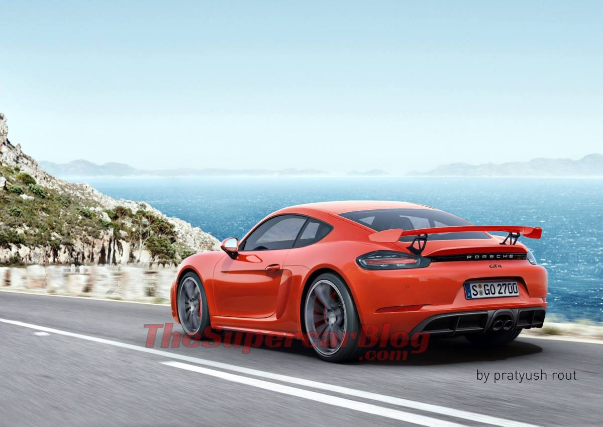 Next-Gen Porsche 718 Cayman GT4: Exclusive