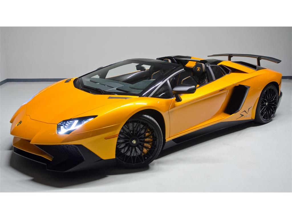 lamborghini aventador sv roadster for sale in the us the supercar blog